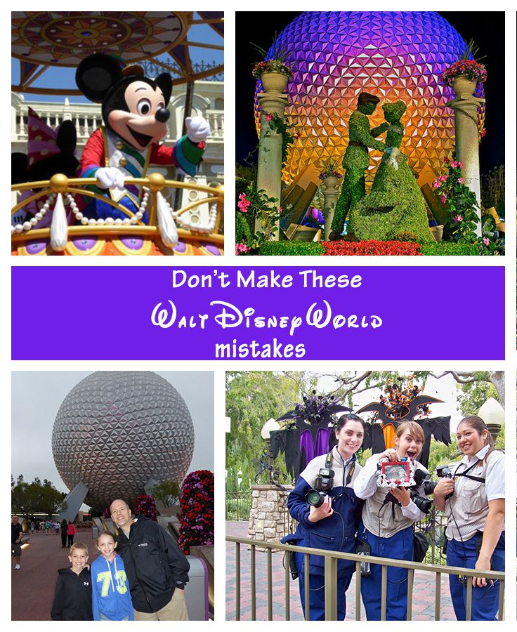 Every trip to Disney results in new knowledge for how to make the trip better next time you go, Here are 5 mistakes we've made at the parks and how you can learn from them!