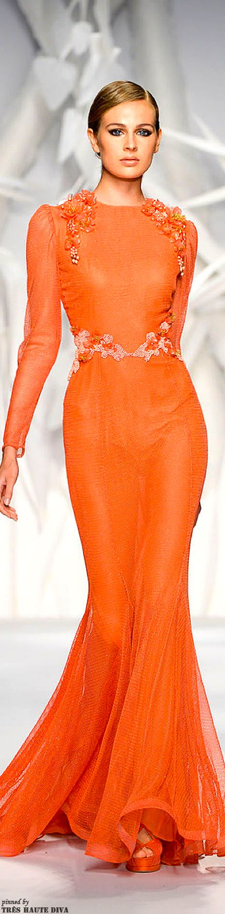 Abed Mahfouz Fall/Winter 2013/14 Couture | The House of Beccaria#