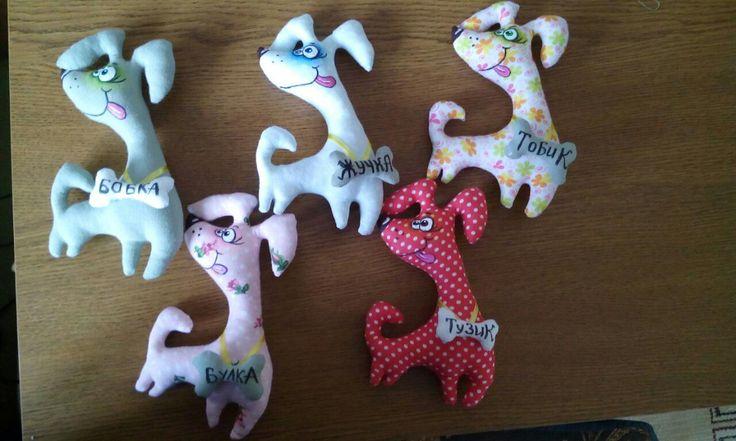 Веселая Собака - Собаки - Игрушки-зверюшки - Коллекция Выкроек - Pretty Toys old