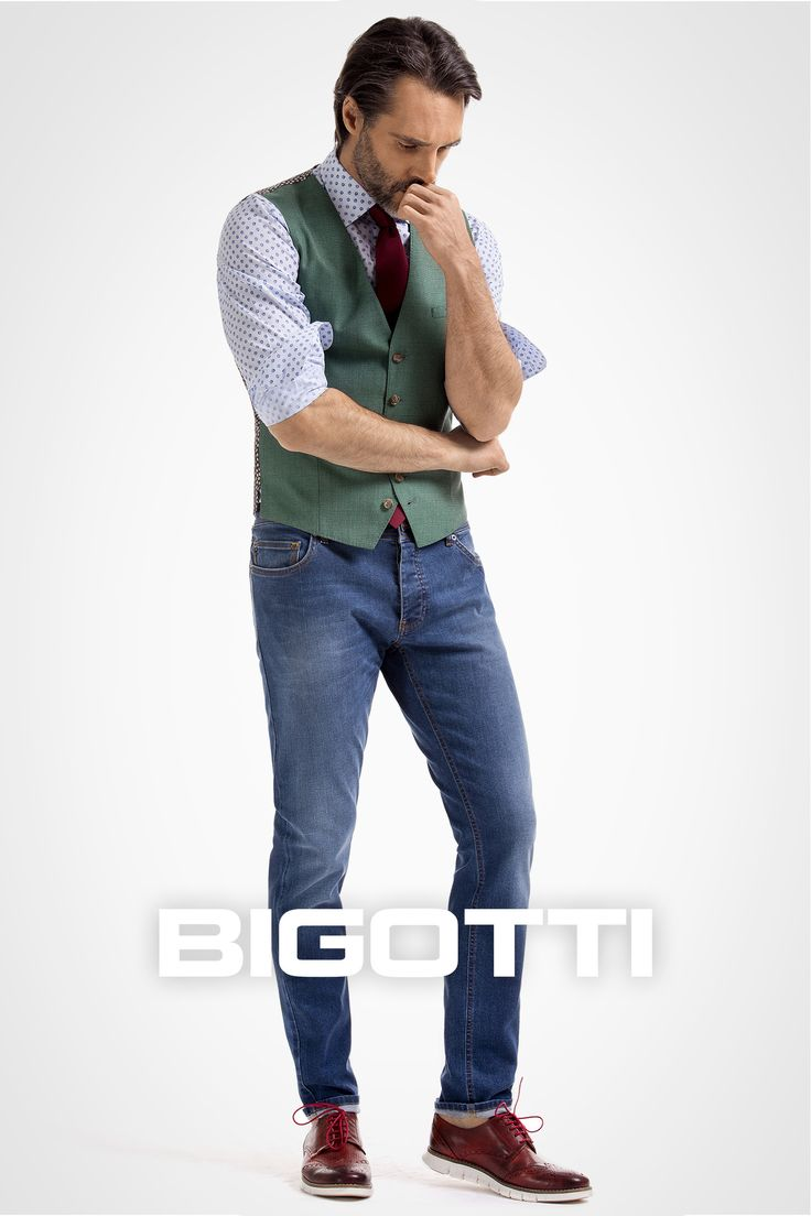 The #waistcoat – #build your #look around it! #Browse and #shop in #Bigotti #men #clothing #stores and on www.bigotti.ro