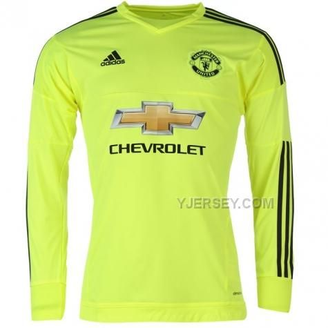 http://www.yjersey.com/1516-manchester-united-goalkeeper-yellow-long-sleeve-jersey-shirt.html Only$32.00 15-16 MANCHESTER UNITED GOALKEEPER YELLOW LONG SLEEVE JERSEY SHIRT Free Shipping!