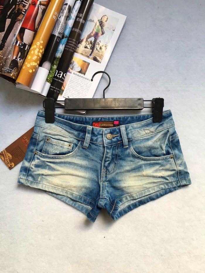 Низкой талией джинсовые шорты диких худощавое новые корейские женщины прилив широкие Songxia шорты - Taobao