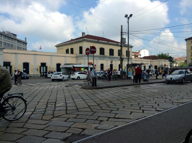 Stazione di Porta Genova - Milano