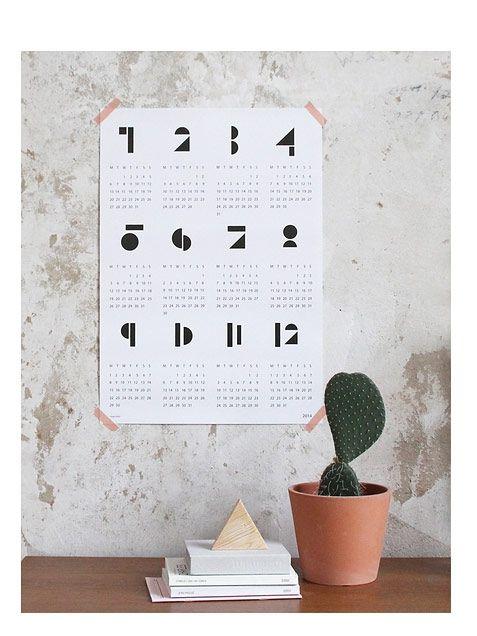 Snug.Kalender 2014 weiss