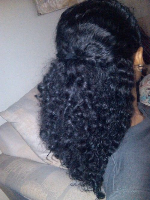 Shea Moisture Curl Enhancing Smoothie | ... after a braid out, using Shea Moisture's Curl Enhancing Smoothie