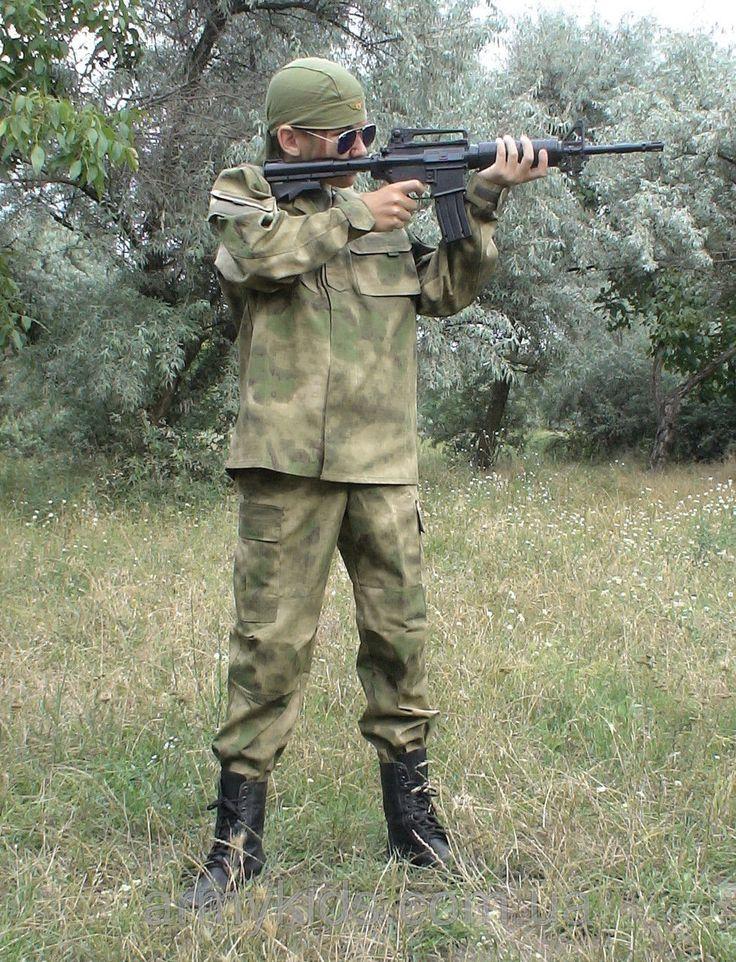 Костюм детский Киборг для мальчиков камуфляж A-TACS от 6 до 14 лет копия военного костюма15-250