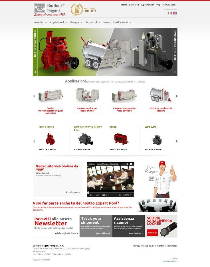 Nuovo Sito Battioni Pagani Un sito web rinnovato nella grafica e nella presentazione dei prodotti. La nascita di una mascotte aziendale dall'ideazione del personaggio alle scelte di marketing.