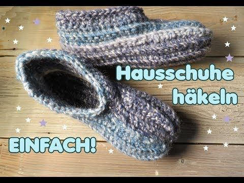 Crochet slippers – free instructions for beginners
