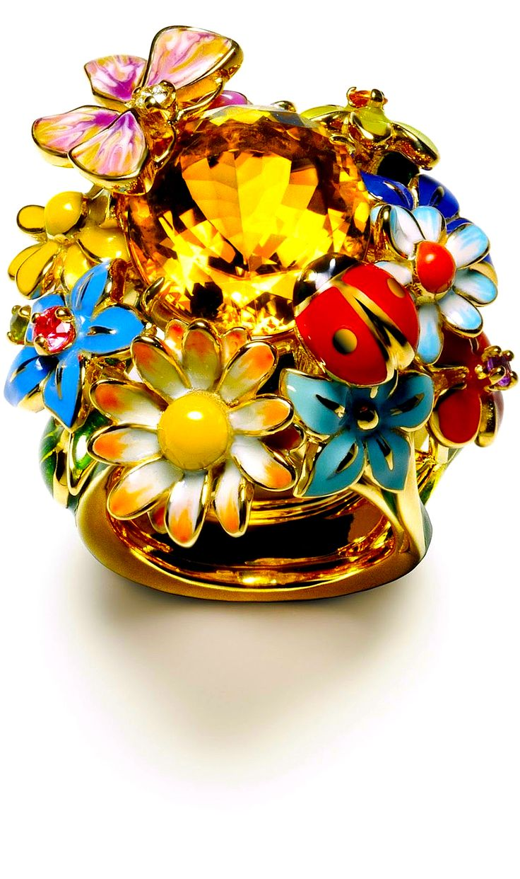 Rosamaria G Frangini | Modern Jewellery | Victoire de Castellane for Dior Jewellery