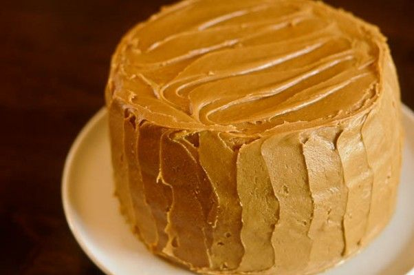 Miracle Whip Cake With Caramel Icing