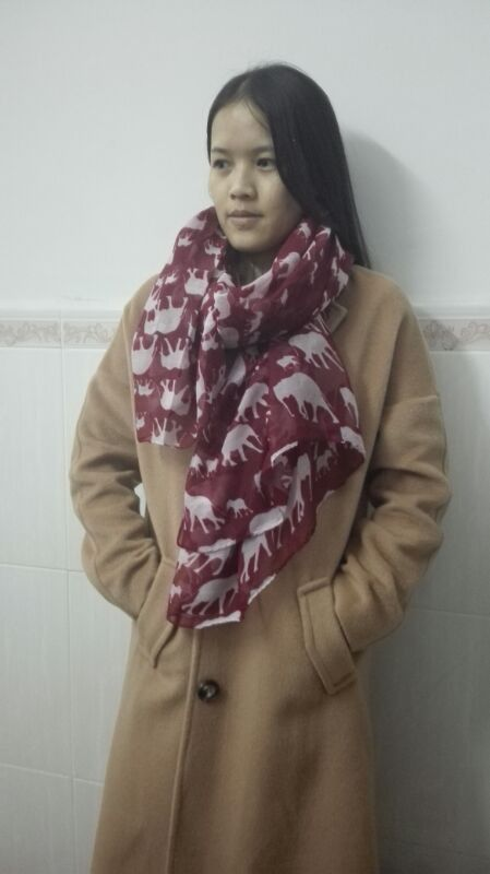 Limited Edition Elephant Infinity Scarf - Buy 1 Get 1 Free