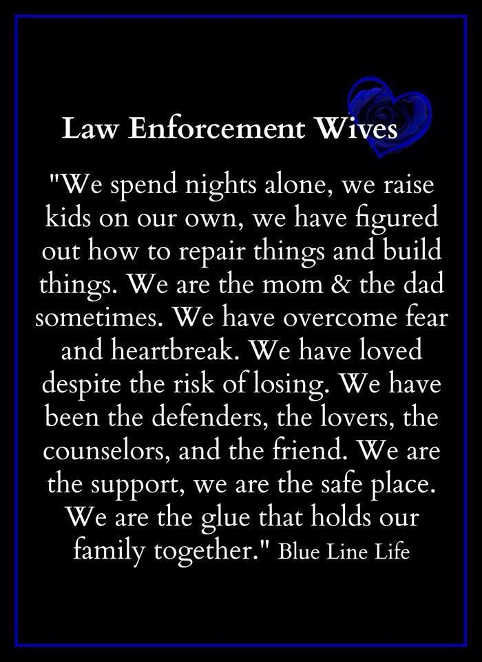 Law Enforcement Wives Law Enforcement Today www.lawenforcementtoday.com