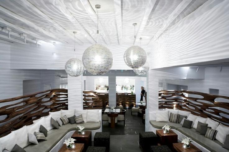 Commercial Interiors. Belvedere Hotel. Mykonos, Greece. Designer: Rockwell Group.