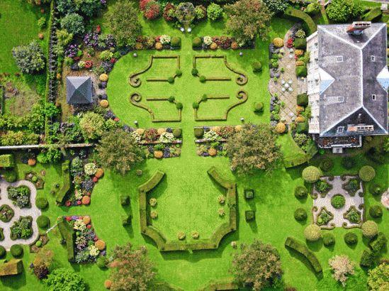 189 best jardins fran ais images on pinterest bretagne for Jardin francais
