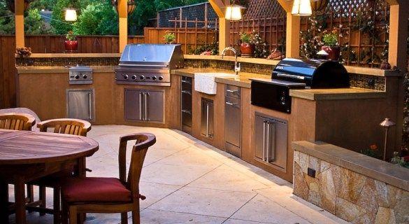 outdoor kitchen design ideas & pictures | hgtv throughout Outside Kitchen Outside Kitchen With regard to Motivate