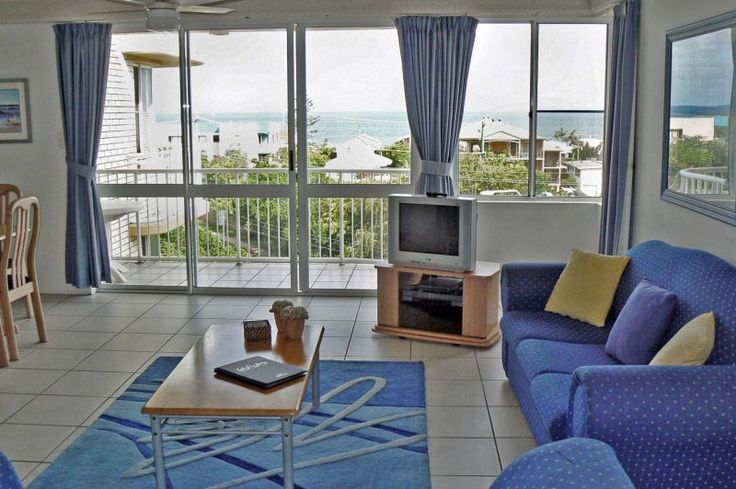 Seafarer Chase Apartments - 2 Bedroom Apartment Lounge - Caloundra Holiday Apartments
