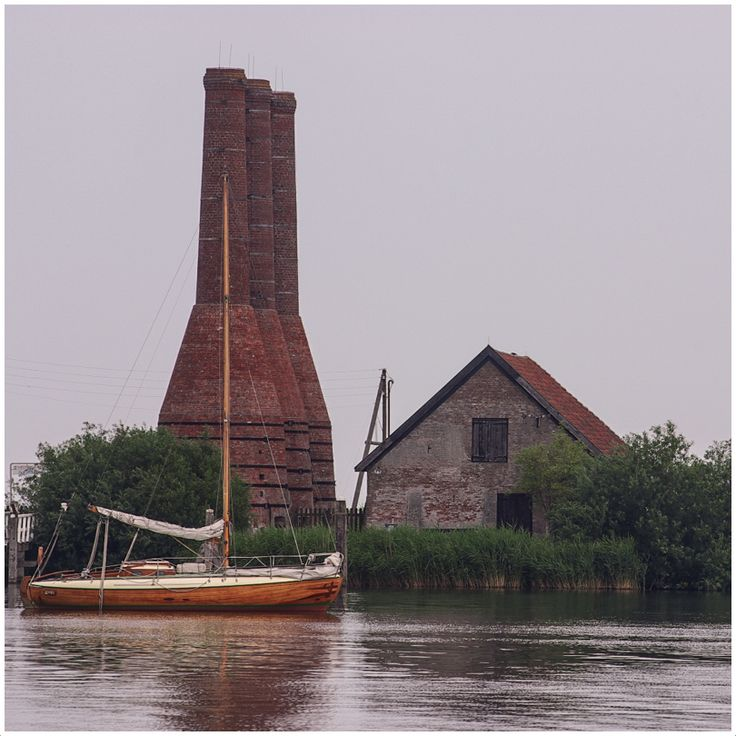 Lime Kilns at Enkhuizen, Netherlands Copyright: Ken Peters