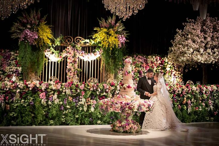 Rema & George's Couture Fairytale Wedding in Sydney full of gorgeous flowers by Vesna Grasso Floral Designer, planned by Diane Koury Weddings