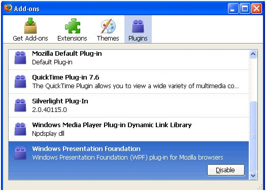 Current Version Plugin Windows Presentation Foundation Read more here: http://www.techmero.com/2012/12/windows-presentation-foundation-plugin/