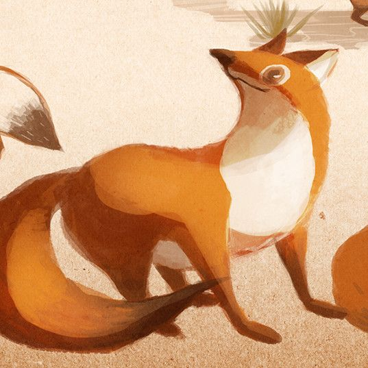 Animal concept at Seed Studio, Zoy Chen on ArtStation at https://www.artstation.com/artwork/aO3qX