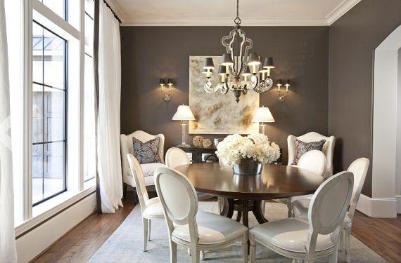 Resultado de imagem para sala de jantar clássica pequena