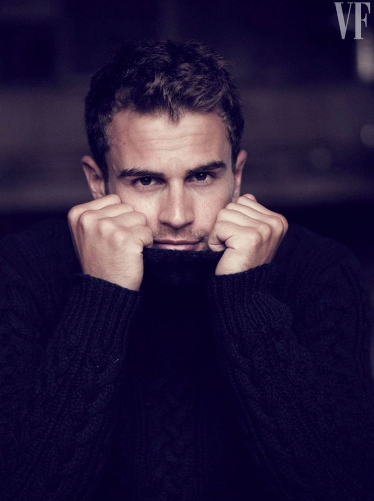 Theo James. Vanity Fair Photoshoot
