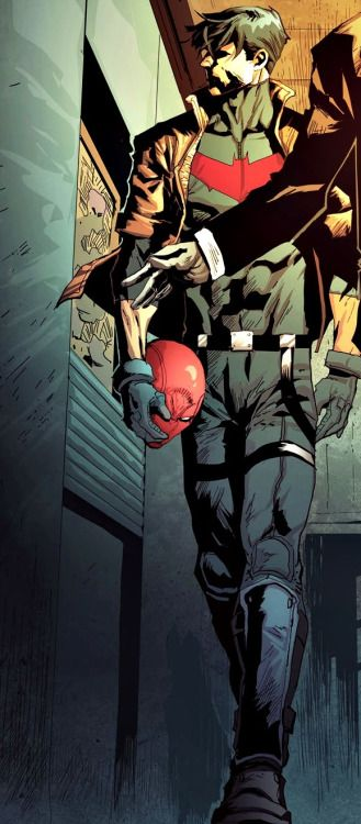 Jason Todd in Red Hood and The Outlaws #4