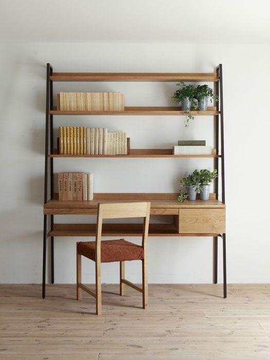 Desk + Shelf