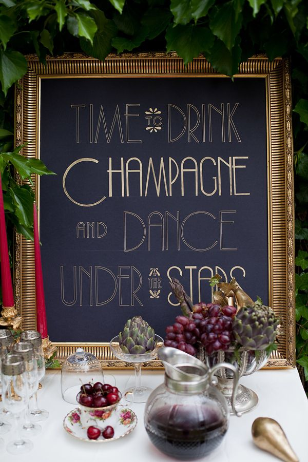 Time to drink champagne and dance under the stars. Photography by Amanda Thomsen + Camilla Jørvad + Tine Hvolby