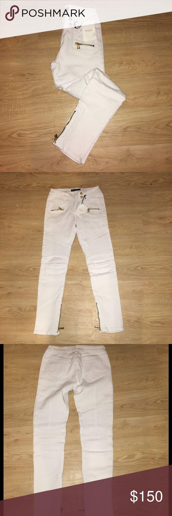 Balmain jean Size 30 never been used very stretchy Balmain Jeans Skinny