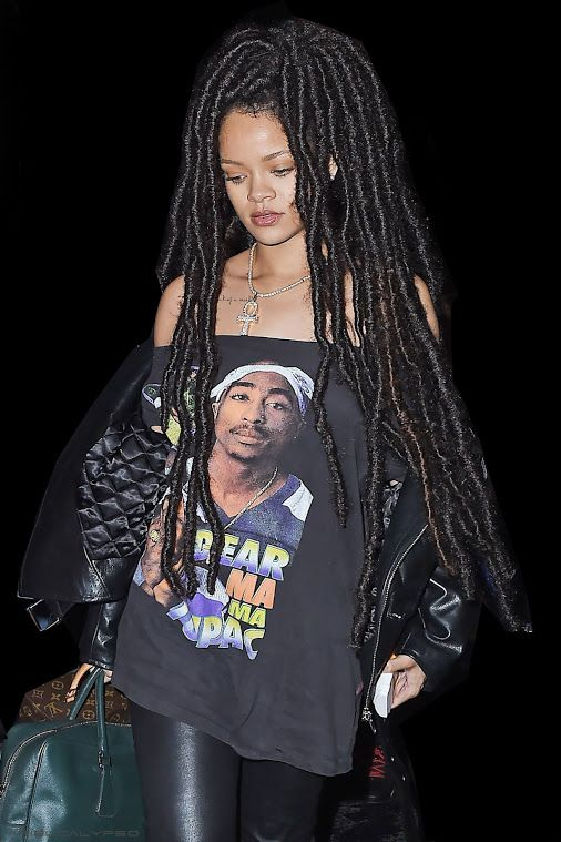 Rihanna   's Newest Look Out & About in NYC (October 4th, 16') Dread locks…