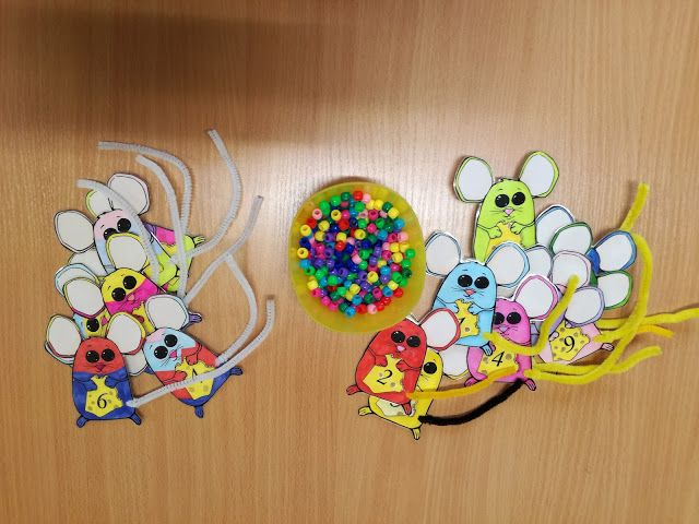 Wiśnia w przedszkolu: Myszki matematyczne