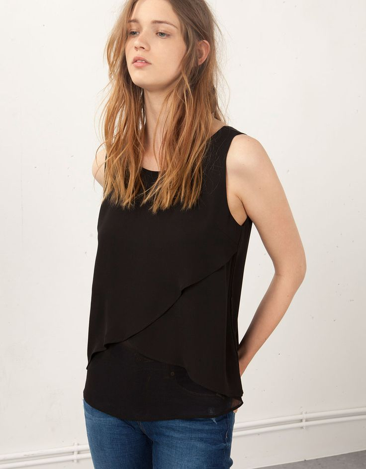 Blusa Bershka básica - Camisas & blusas - Bershka España