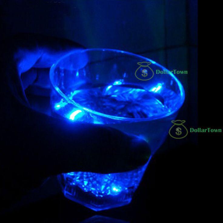 het kopen van snel dollartown mini led knippert plastic drank wijn drinken cup bar decoratieve partij club mok hot best $2,10 (free shipping)
