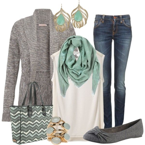 mint for fall - really like with maybe my darker scarf and leopard flats?