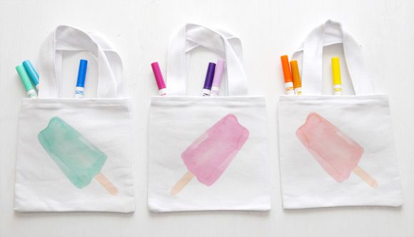 Popsicle Party Printables + DIY from @CreatureComfort
