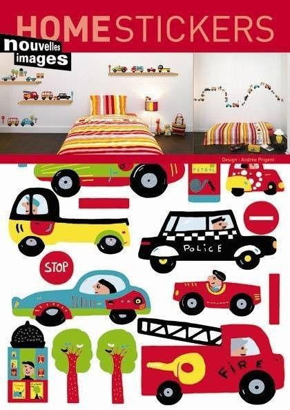 Good Kinder Wandtattoo Autos B Ware Wandsticker Kinderzimmer home sticker Aufkleber