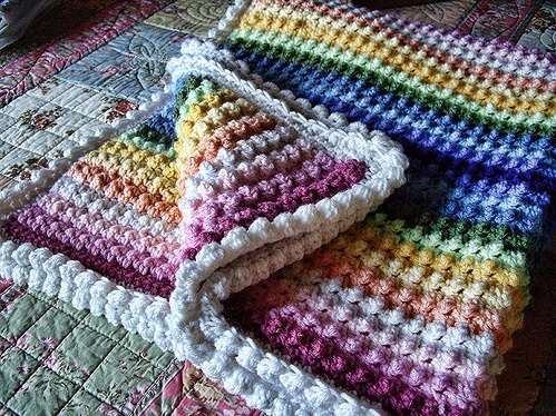 Free Crochet Bobble Stitch Afghan Patterns : Pin by Kristen Mack on Crochet projects Pinterest