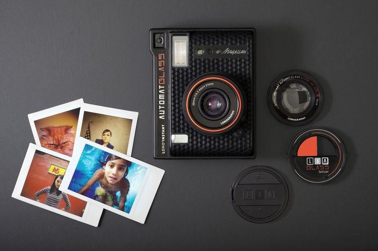 Lomography ha ufficialmente annuciato l'uscita della sua nuova fotocamera digitale istantanea e automatica Lomo'Instant Automat.