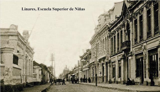Imágenes de Chile del 1900: Linares, Parral, Panimávida y Yerbas Buenas