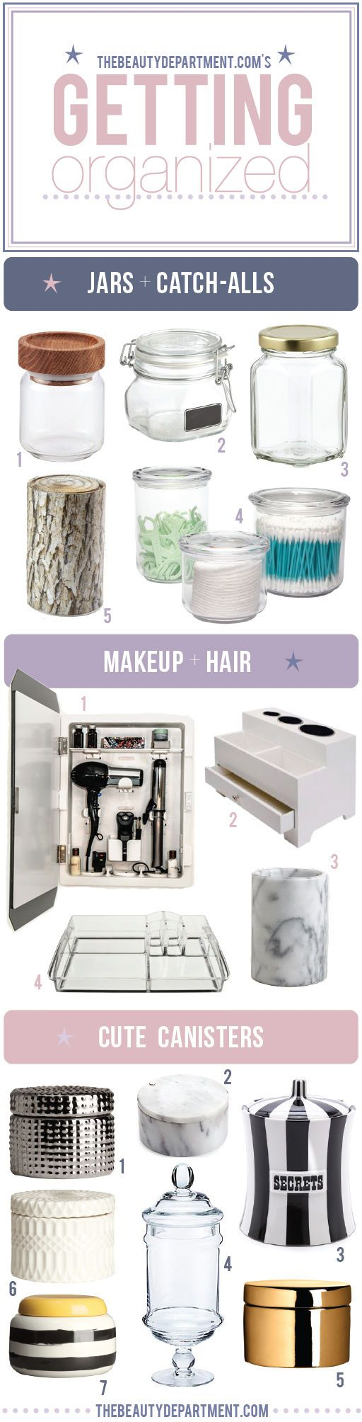 The Beauty Department: Your Daily Dose of Pretty. - ORGANIZATION STATION! @tbdofficial