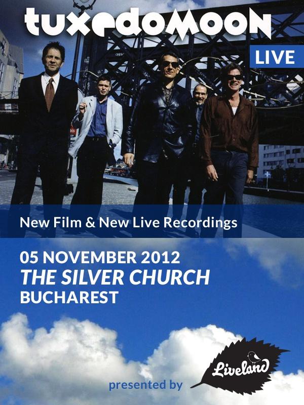 Concert live Tuxedomoon pe data de 5 noiembrie 2012.