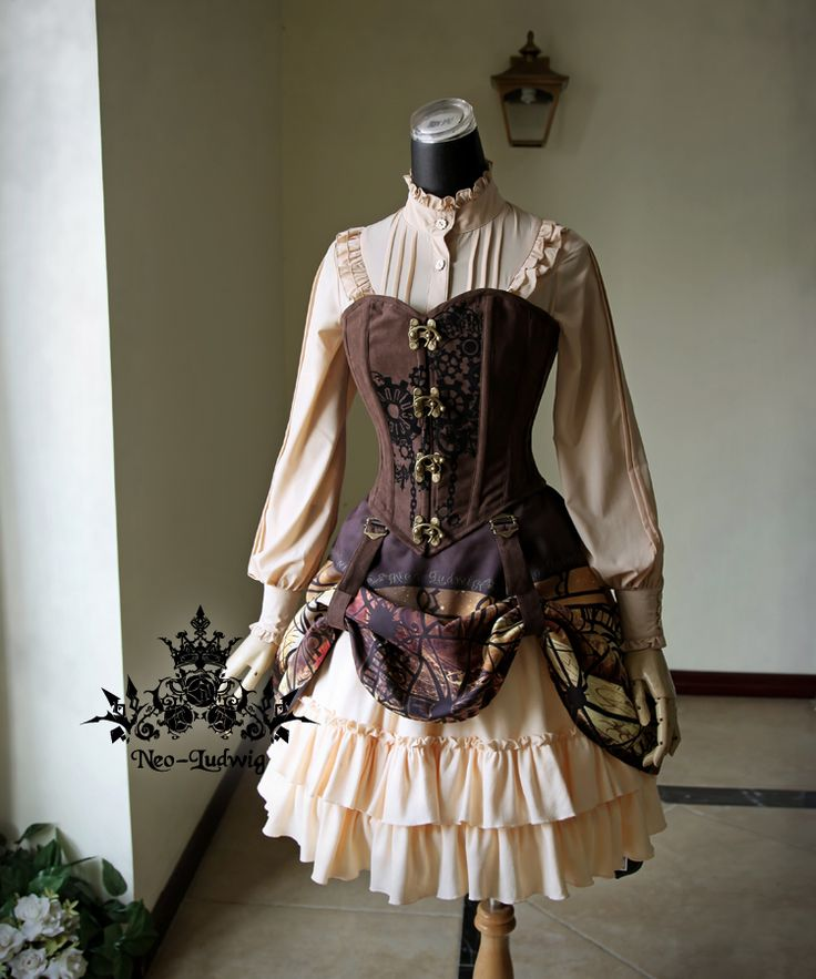 fanplusfriend - Steampunk Print High Waist 2-Way Knee Length Gathered Buckle Skirt*2colors Instant Shipping, $57.00 (http://www.fanplusfriend.com/steampunk-print-high-waist-2-way-knee-length-gathered-buckle-skirt-2colors-instant-shipping/)