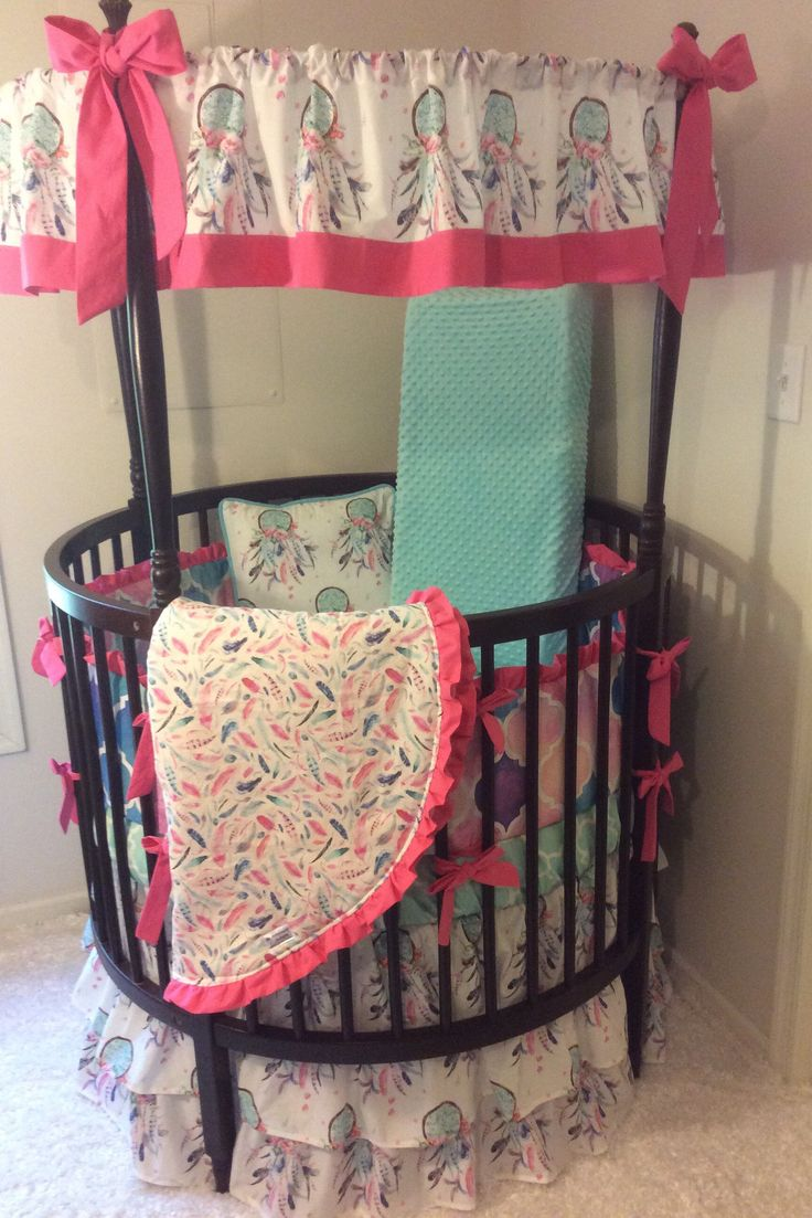 40 Best Images About Round Crib Bedding On Pinterest