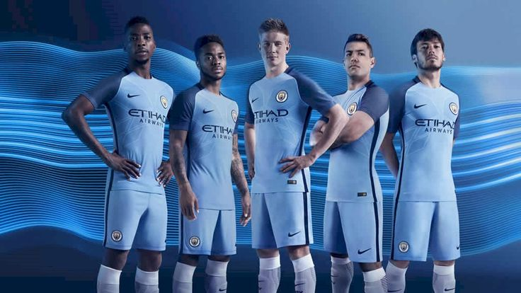 Manchester City 2016/17 Kit now available online at http://www.mancity.com/shop