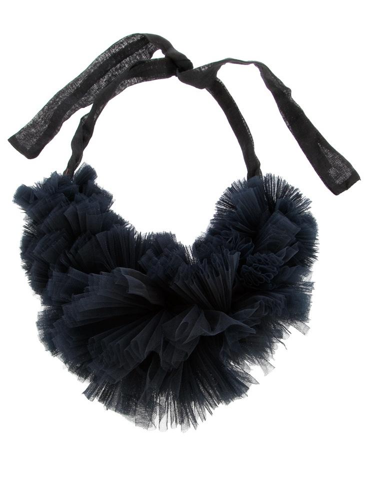 Kapow Wow (Mia Morikawa) - Tulle Ruffle Collar - - http://www.kapowwowobjects.com/ More
