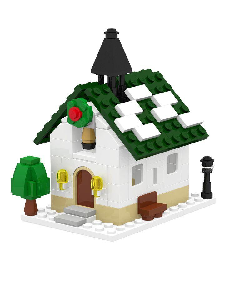Winter Village Cozy House Mini Modular : 네이버 블로그