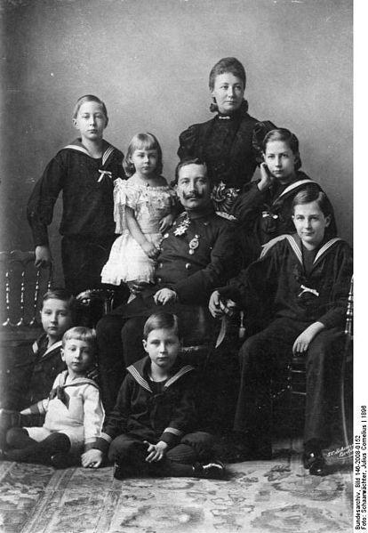 Familie Kaiser Wilhelm II.