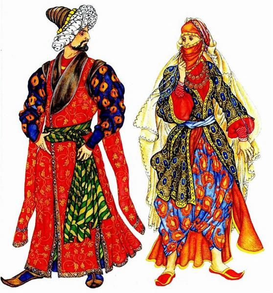 Турецкие национальные костюмы фото