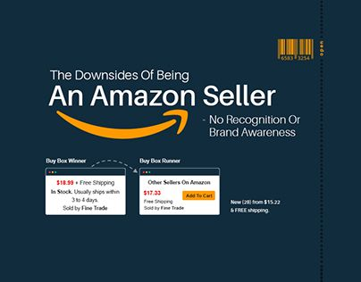 """Check out new work on my @Behance portfolio: """"Downsides Of Being An Amazon Seller"""" http://be.net/gallery/53867917/Downsides-Of-Being-An-Amazon-Seller"""